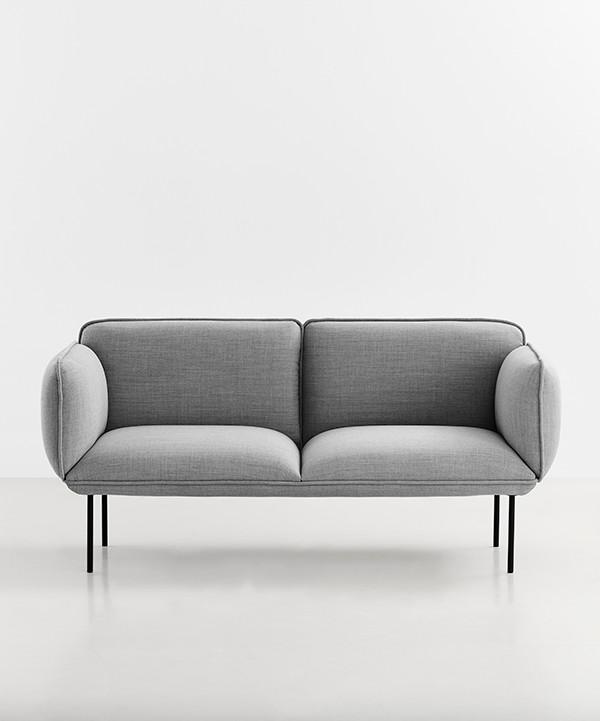 Nakki 2 pers. sofa fra Woud