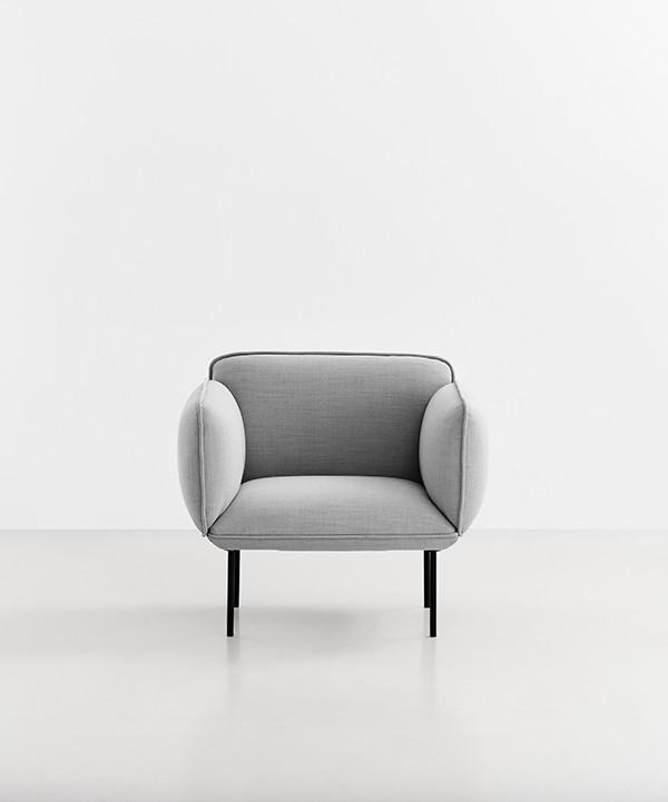 Nakki lounge stol fra Woud