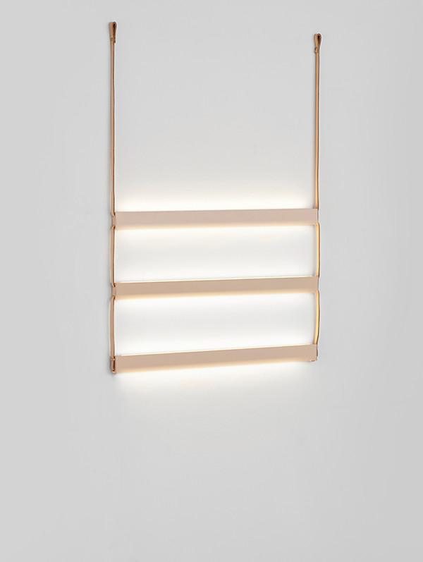 Ladder væglampe 3 fra Woud