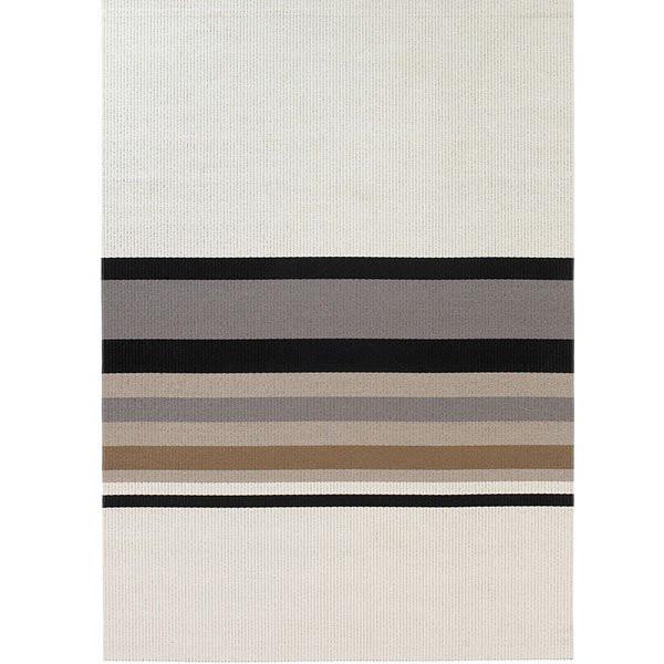 Horizon White Stone tæppe fra Woodnotes
