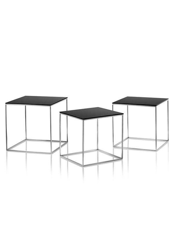 PK71 borde, 3 stk af Poul Kjærholm