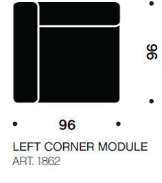 MAGS hjørne modul art. 1862 fra Hay