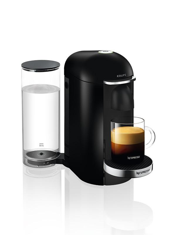 VertuoPlus kaffemaskine, Black fra Nespresso
