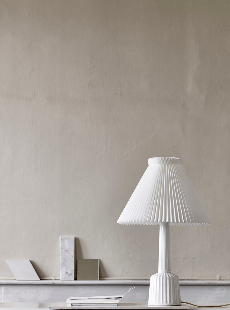 Esben Klint lampe fra Lyngby Porcelæn