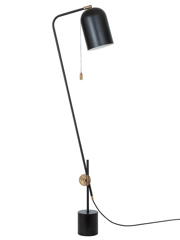 Knekt gulvlampe fra Konsthantverk