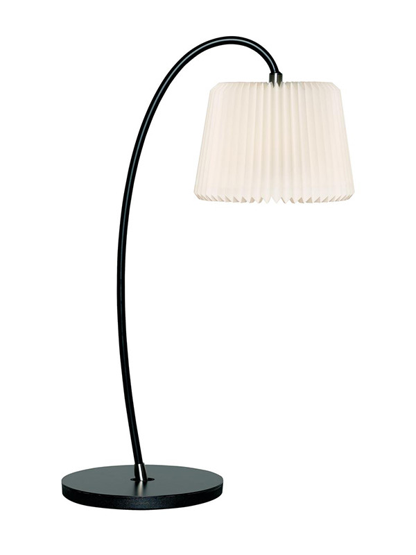 Snowdrop bordlampe med papirskærm fra Le Klint