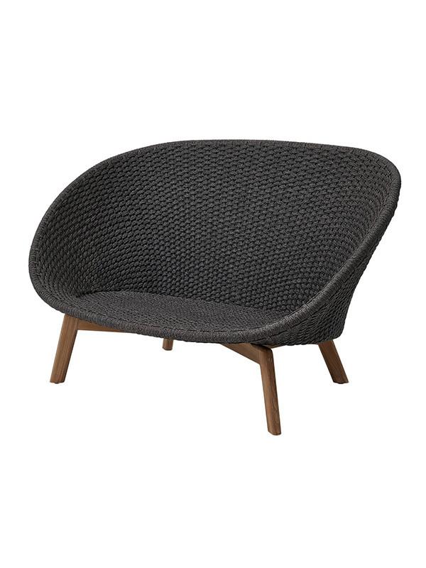 Peacock 2-pers. sofa, Soft Rope fra Cane-line