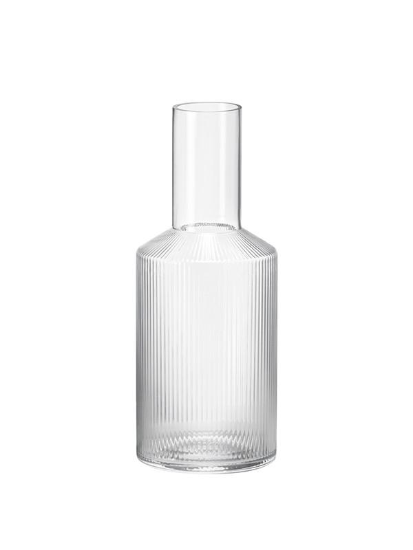 Ripple glas karaffel fra Ferm Living