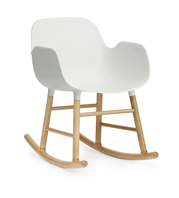 Form Rocking Armchair fra Normann Copenhagen