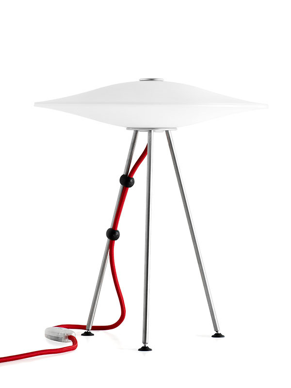 Sinus bordlampe fra Piet Hein