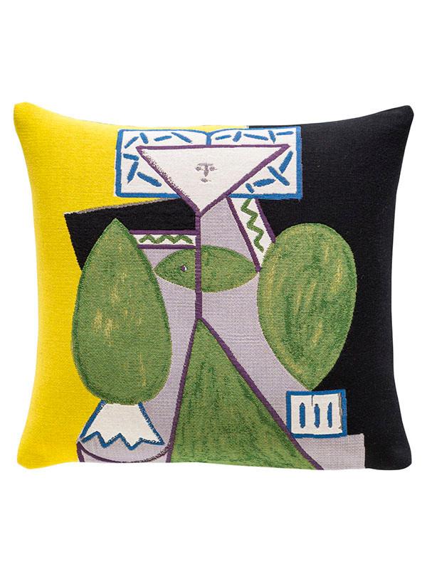 Picasso Femme En Vert Et Mauve pude fra Poulin Design