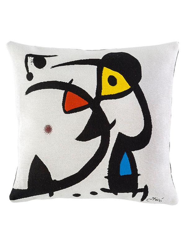 Miro Deux Personnages Hantés Par Un Oiseau pude fra Poulin Design