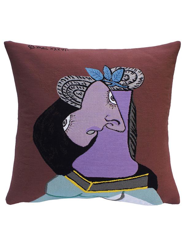 Picasso Le Chapeau De Paille Au Feuillage Bleu pude fra Poulin Design