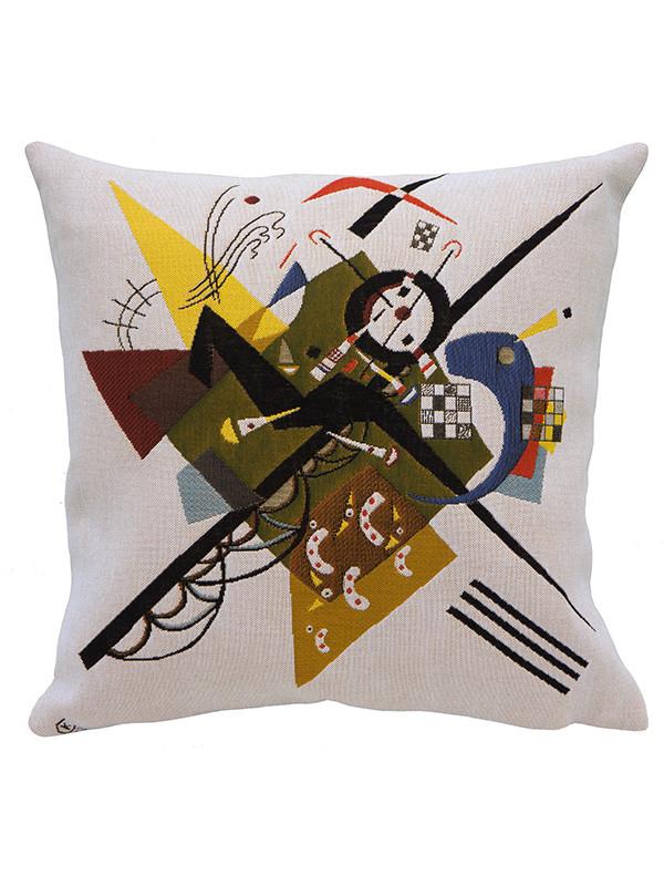 Kandinsky Auf Weiss II pude fra Poulin Design