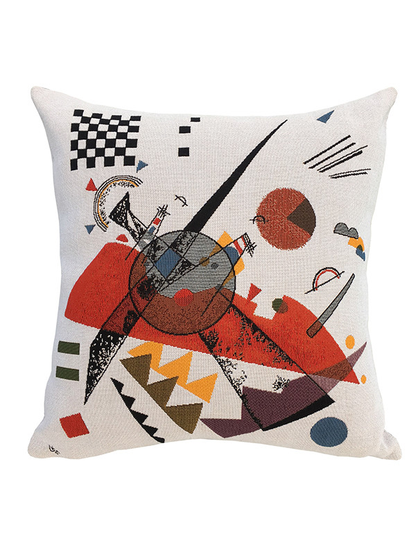Kandinsky Orange pude fra Poulin Design