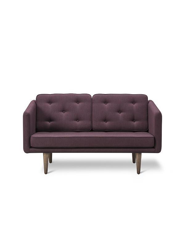 No. 1 sofa 2 pers. af Børge Mogensen
