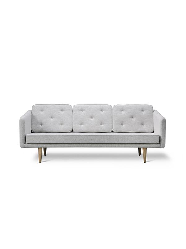No. 1 sofa 3 pers. af Børge Mogensen