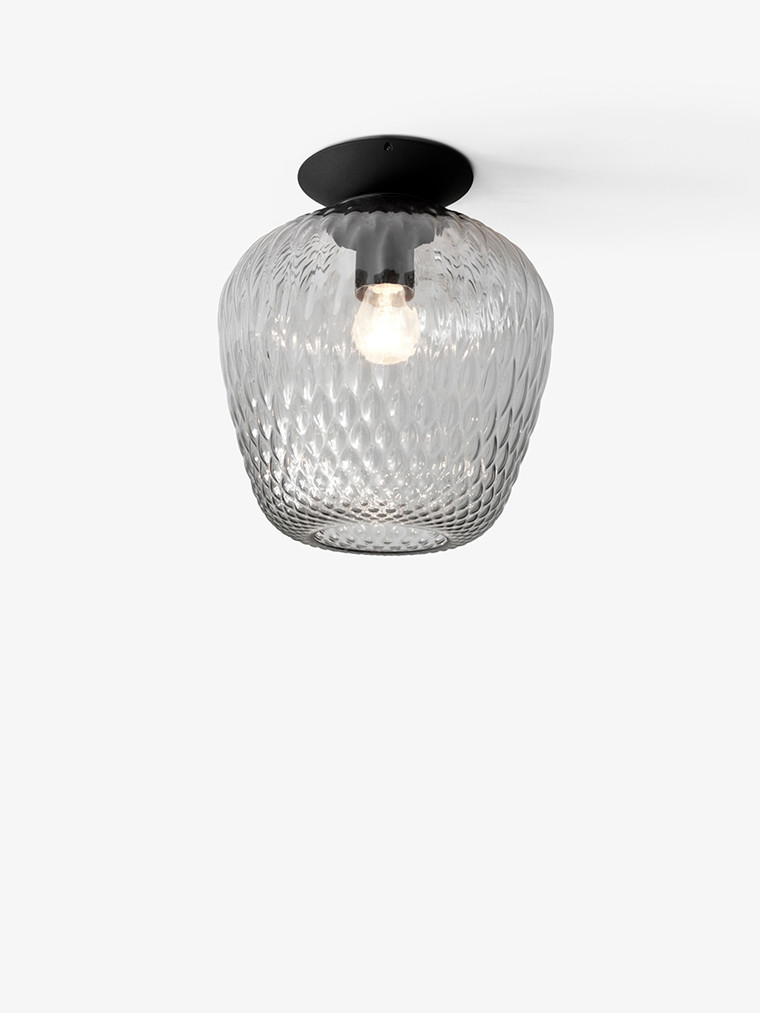 Blown SW5 loftlampe fra Andtradition