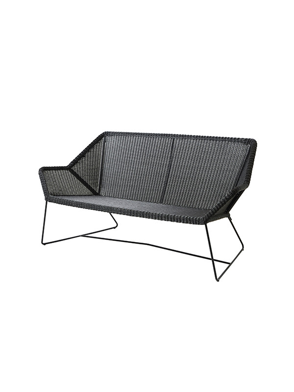 Breeze 2 pers lounge sofa fra Cane-line