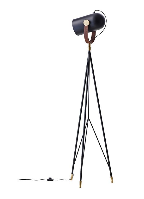 Carronade gulvlampe fra Le Klint