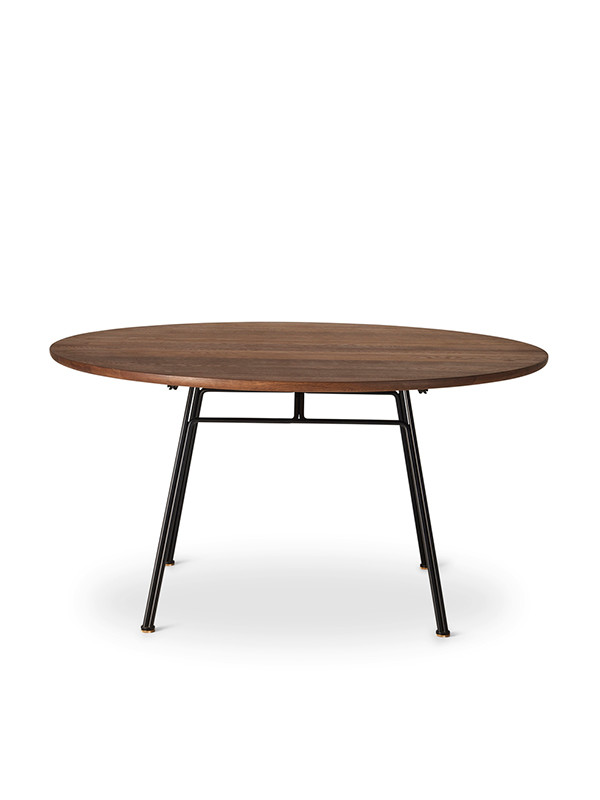 Corduroy spisebord, rundt fra DK3