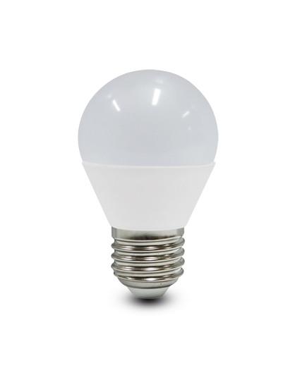 LED E27 Krone 6W Opal pære fra Duralamp