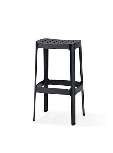 Cut barstol, høj fra Cane-line