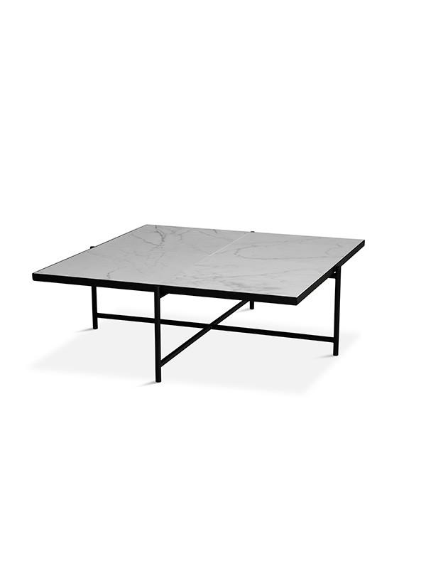 Coffee Table 90, hvid marmor fra HANDVÄRK