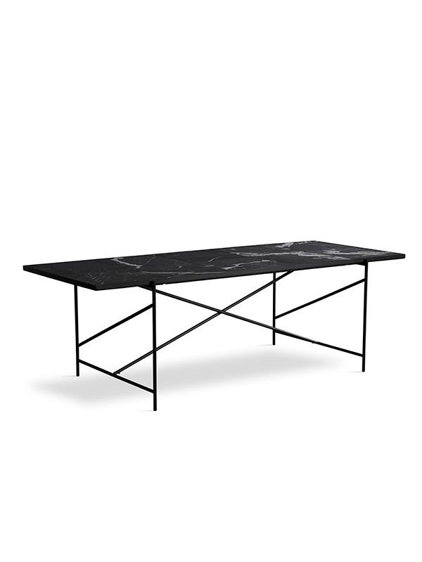 Spisebord 230, sort marmor fra HANDVÄRK