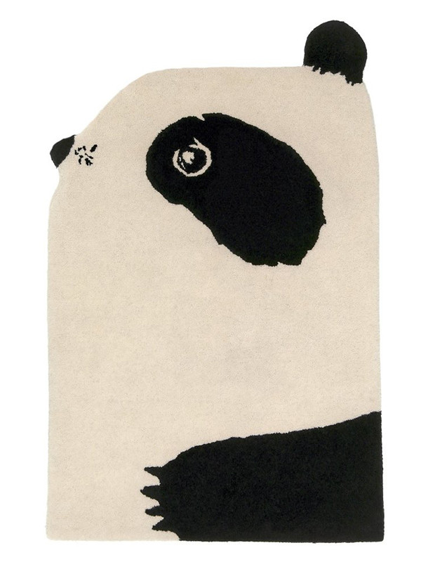 Panda gulvtæppe fra EO