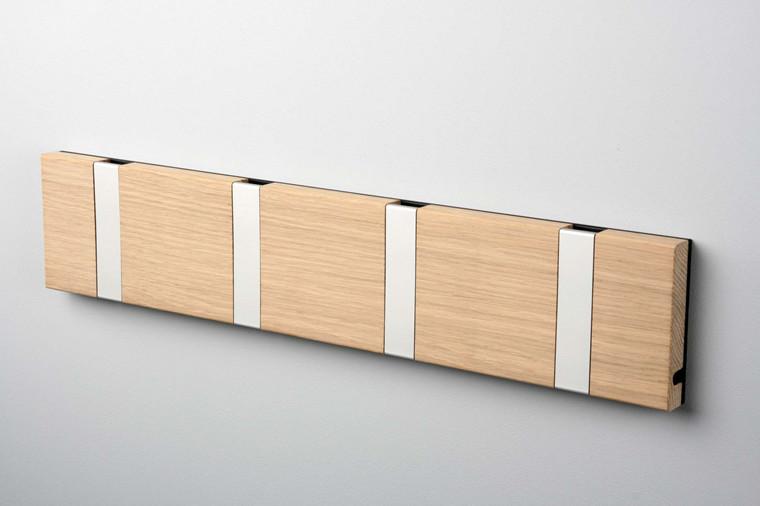KNAX knagerække med fire knager fra LoCa