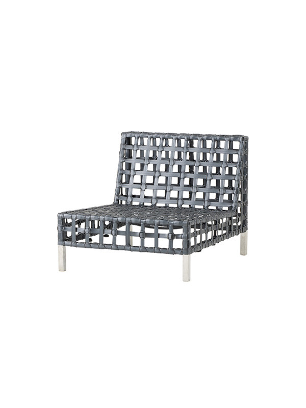 Flow sofa, enkelt modul fra Cane-line