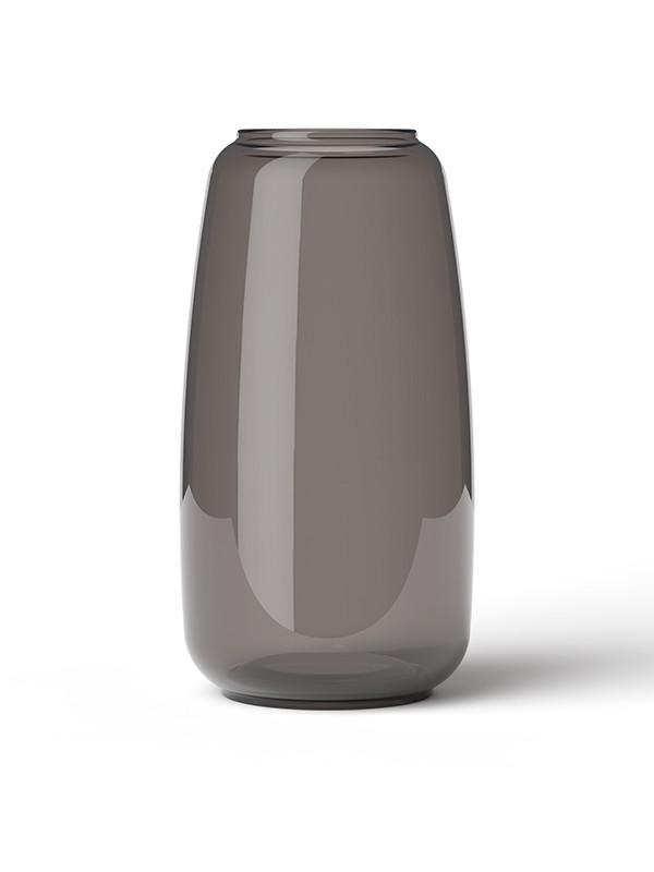 Form 130 vase, smoke fra Lyngby Porcelæn