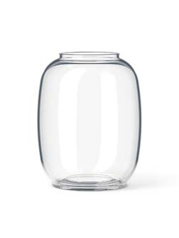 Form 140 vase i klar glas fra Lyngby Porcelæn