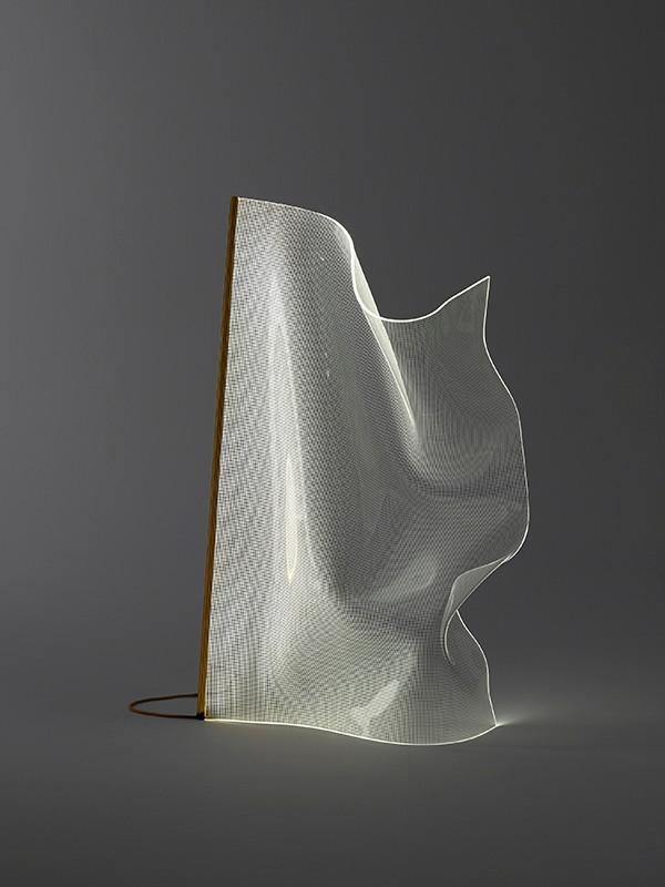 Gweilo Qin PE gulvlampe fra Parachilna