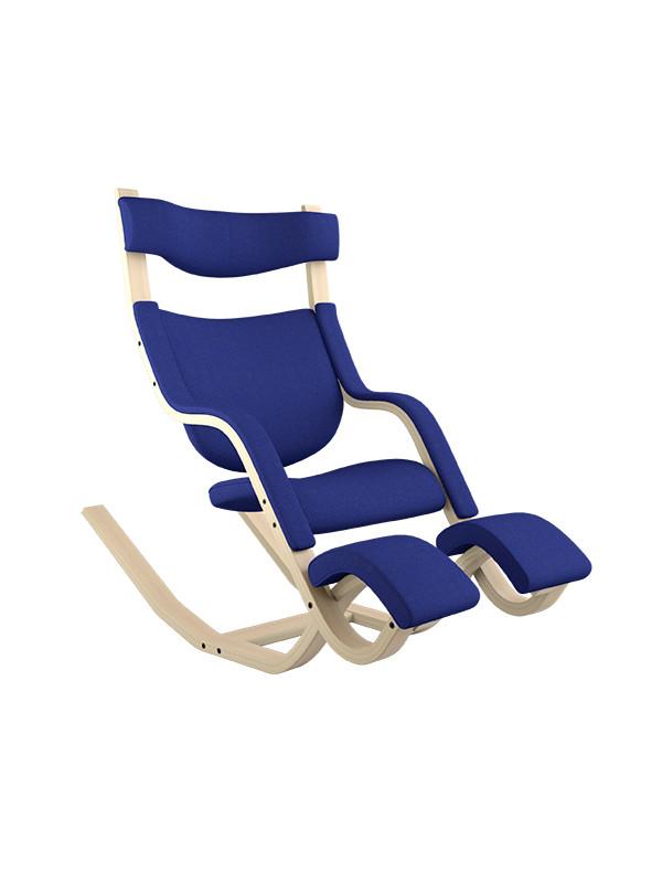 Gravity™ balans® lænestol fra Variér (Natural ask)
