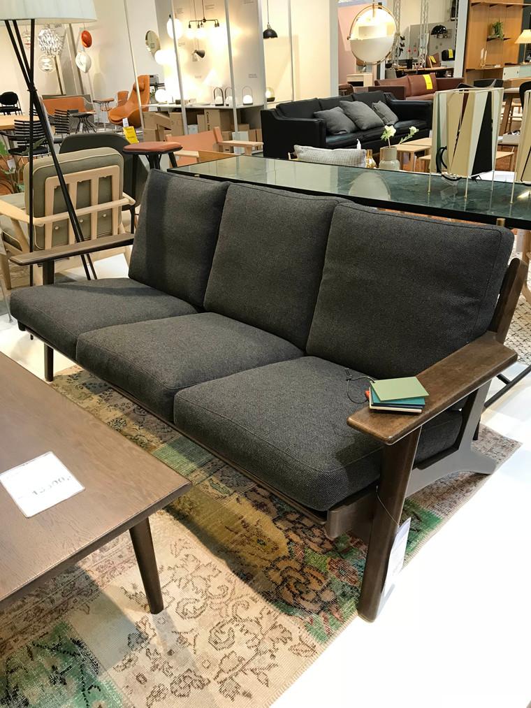 GE 290 3-pers sofa fra Getama