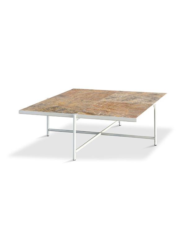 Coffee Table 90, Colombe d'Or marmor fra HANDVÄRK