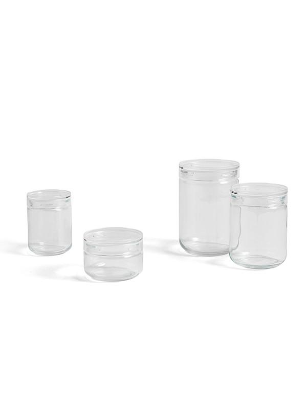 Japanese Glass Jar fra Hay