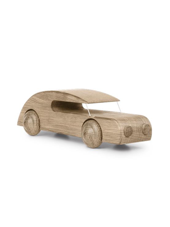 Automobil i egetræ af Kay Bojesen