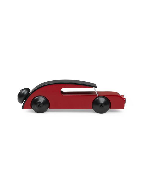 Automobil i malet bøg af Kay Bojesen
