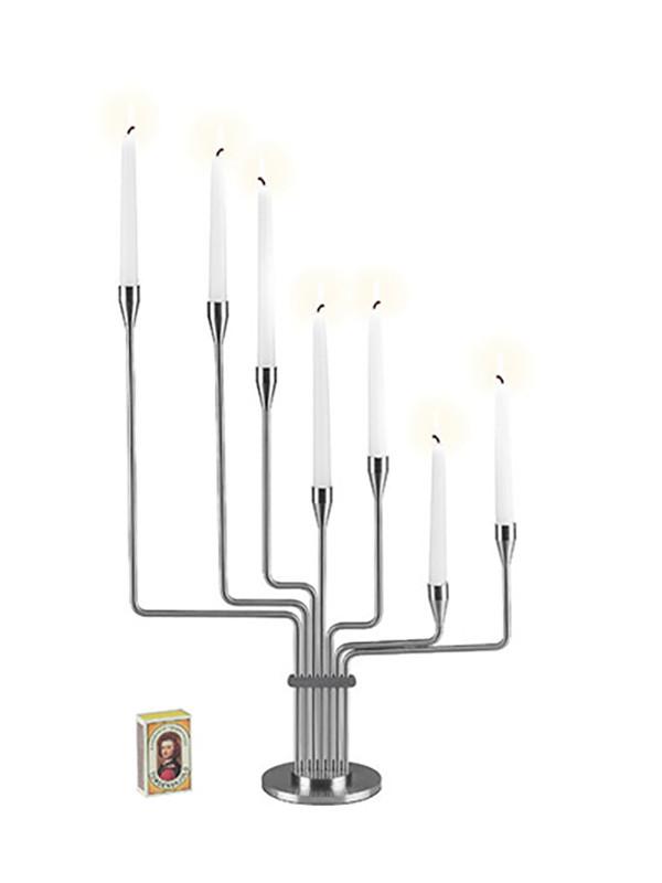 Karlsvognen mini lysestage fra Piet Hein