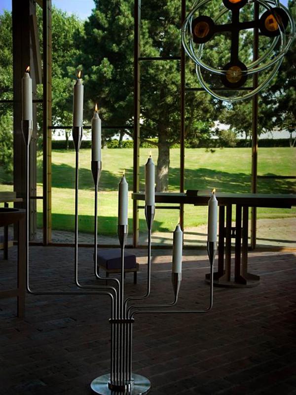 Karlsvognen maxi lysestage fra Piet Hein