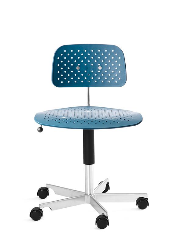 Kevi Air kontorstol, blå fra Engelbrechts