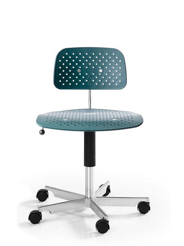 Kevi Air kontorstol, grøn fra Engelbrechts