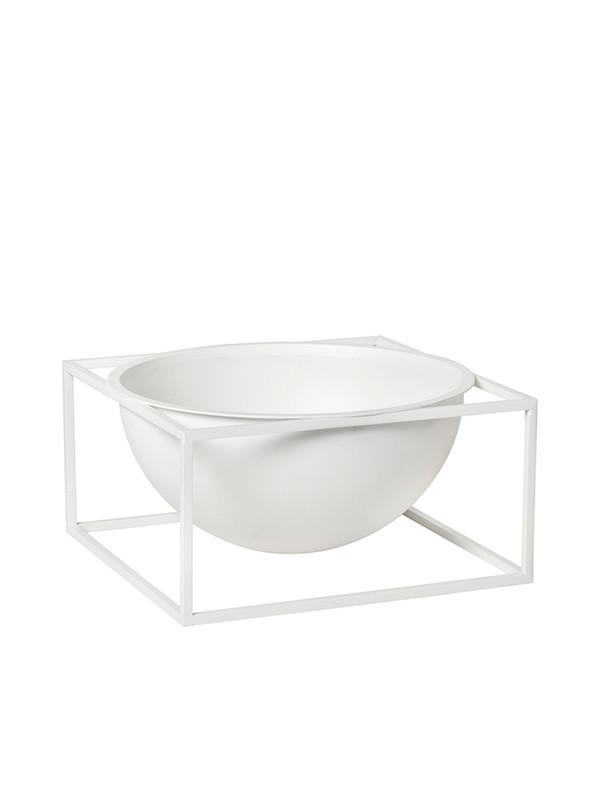 Kubus Bowl Centerpiece large hvid fra By Lassen