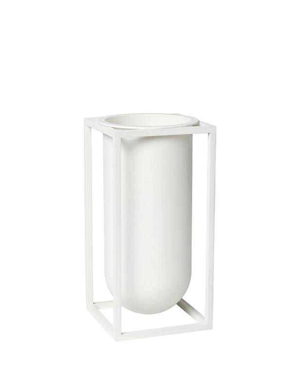 Kubus vase Lily i hvid fra By Lassen