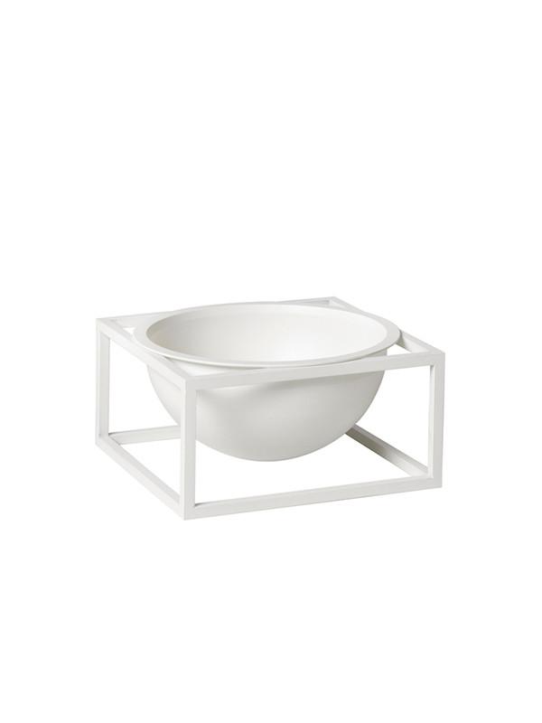 Kubus Bowl Centerpiece small hvid fra By Lassen