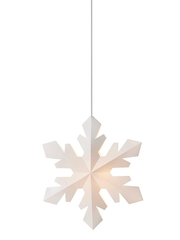 Snowflake lampe fra Le Klint