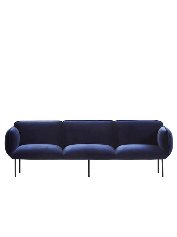 Nakki 3 pers. sofa fra Woud